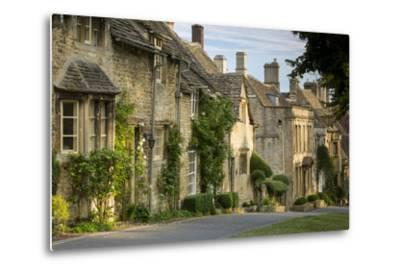 Connected Cottages in Burford, Cotswolds, Oxfordshire, England-Brian Jannsen-Metal Print