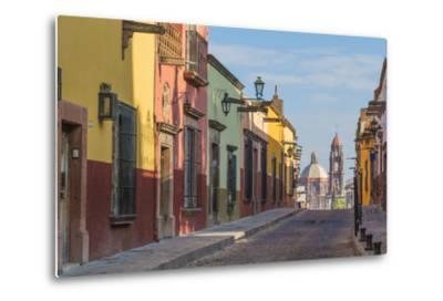 Mexico, San Miguel De Allende. Street Scene-Jaynes Gallery-Metal Print