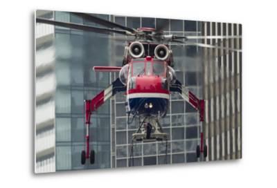 An Erickson Aircrane S-64 Aircrane Heavy-Lift Helicopter--Metal Print