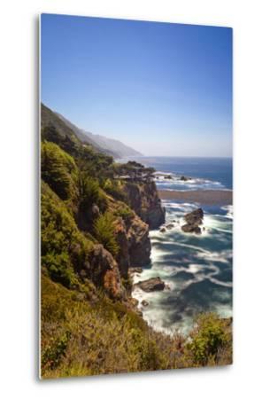 The Big Sur Coastline of California-Andrew Shoemaker-Metal Print