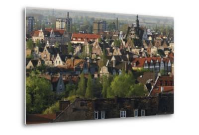 Poland, Pomerania, Gdansk. Town-Walter Bibikow-Metal Print