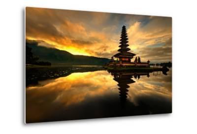 Pura Ulun Danu Bratan Water Temple-toonman-Metal Print