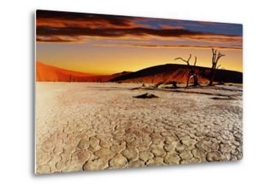 Namib Desert, Sossusvlei, Namibia-DmitryP-Metal Print