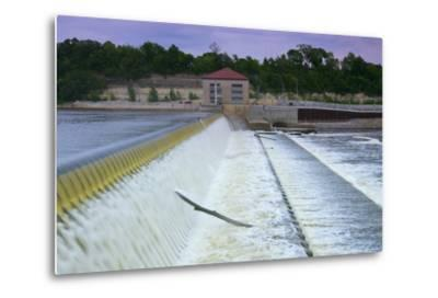 Powerhouse and Dam Spillway-jrferrermn-Metal Print