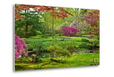 Japanese Garden-neirfy-Metal Print