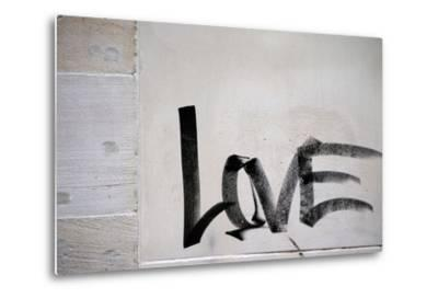 Word Love-ginton-Metal Print