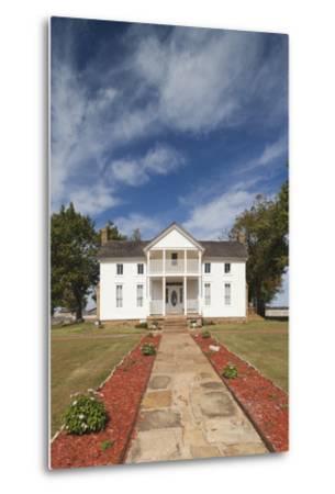 Will Rogers Birthplace, Oologah, Oklahoma City, Oklahoma, USA-Walter Bibikow-Metal Print