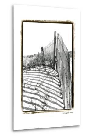 Beach Scape IV-Laura Denardo-Metal Print