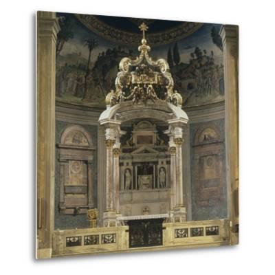 Church of the Holy Cross of Jerusalem-Domenico & Pietro Gregorini & Passalacqua-Metal Print
