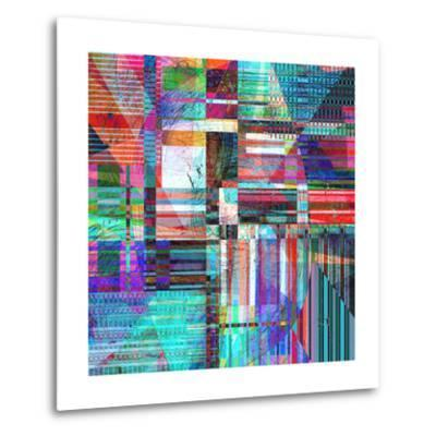 Abstract Background-Tanor-Metal Print