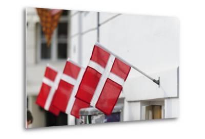 Street Scenes from Nyhavn, Copenhagen, Sjaelland, Denmark-Fredrik Norrsell-Metal Print