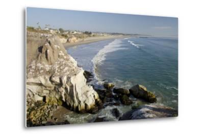 Rocky Coastal Overview, Pismo Beach, California, USA-Cindy Miller Hopkins-Metal Print