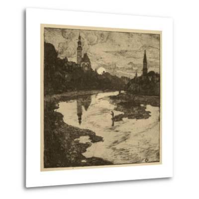 View of Salzburg II--Metal Print