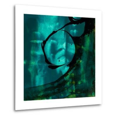Turquoise Element III-Sisa Jasper-Metal Print