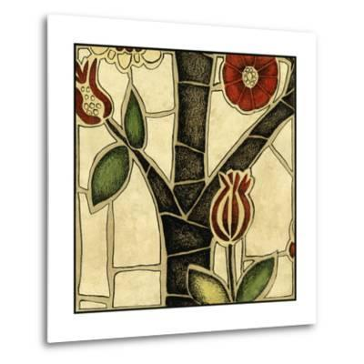 Small Floral Mosaic III-Megan Meagher-Metal Print