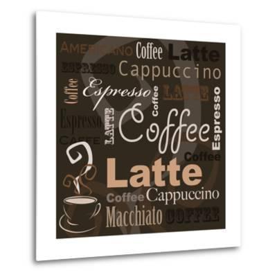 Coffee-leeser-Metal Print