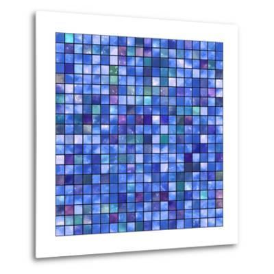 Mosaic-rateland-Metal Print