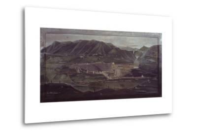 Terni Landscape-Orneore Metelli-Metal Print