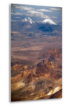 Western Cordillera Occidental, Chile-Bolivia Border-Anthony Asael-Metal Print