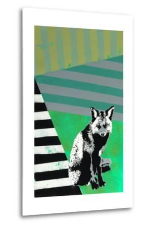 Black Fox-Urban Soule-Metal Print