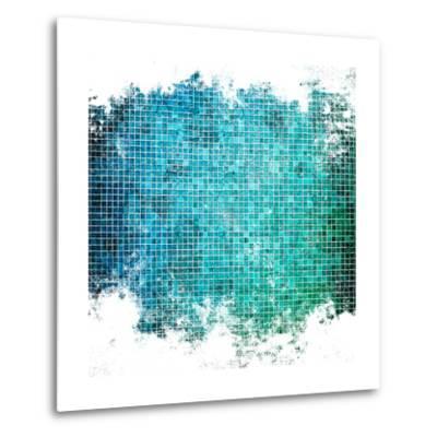 Abstract Mosaic Background-Eky Studio-Metal Print