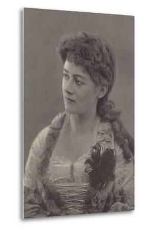 Miss Ethel Selwyn--Metal Print