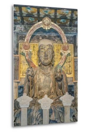 Japan, Kanagawa, Kamakura, Kenchoji Temple Buddha-Rob Tilley-Metal Print