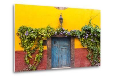 Decorative Doo on the Streets of San Miguel De Allende, Mexico-Chuck Haney-Metal Print