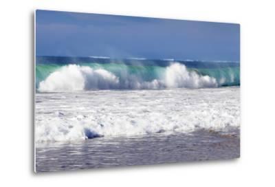 Waves at the Beach, Playa Del Castillo, El Cotillo-Markus Lange-Metal Print
