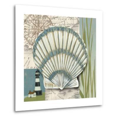 Seaside Shell II-Chariklia Zarris-Metal Print