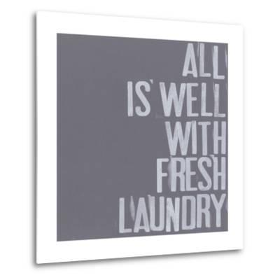 Fresh Laundry I-Deborah Velasquez-Metal Print