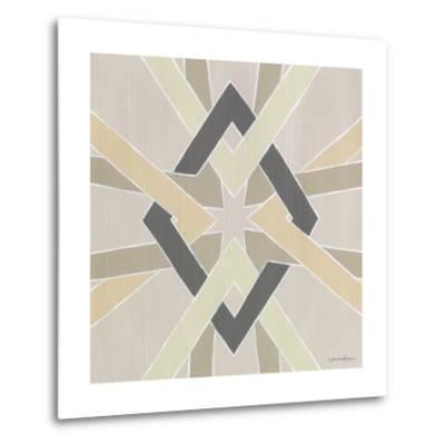 Non-Embellished Deco Stitch III-Vanna Lam-Metal Print