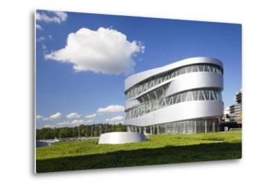 Mercedes Benz Museum, Stuttgart, Baden Wurttemberg, Germany, Europe-Markus Lange-Metal Print