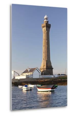 Lighthouse of Phare D'Eckmuhl, Penmarc'H, Finistere, Brittany, France, Europe-Markus Lange-Metal Print