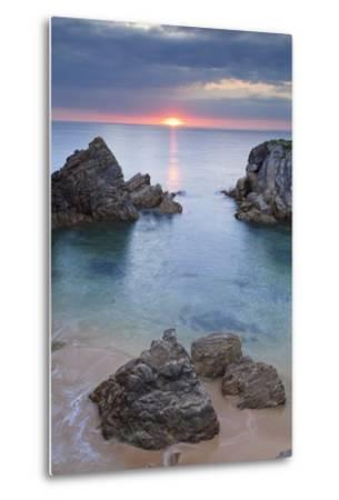 Quiberon Peninsula, Cote Sauvage, Cote De Morbihan, Brittany, France, Europe-Markus Lange-Metal Print