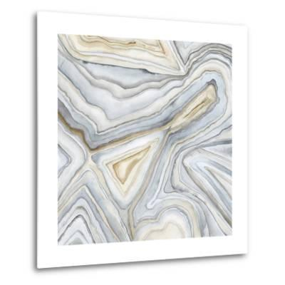 Agate Abstract I-Megan Meagher-Metal Print