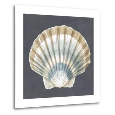 Shell on Slate III-Megan Meagher-Metal Print