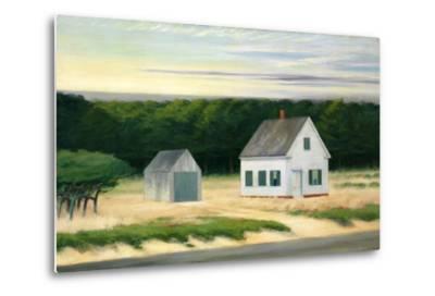 October on Cape Cod-Edward Hopper-Metal Print