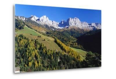 Trentino-Alto Adige and the Dolomite Mountains, Italy-Gavin Hellier-Metal Print