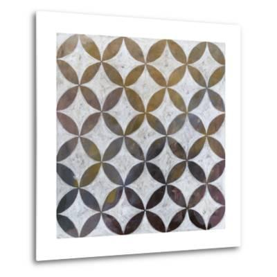 Royal Pattern II-Megan Meagher-Metal Print