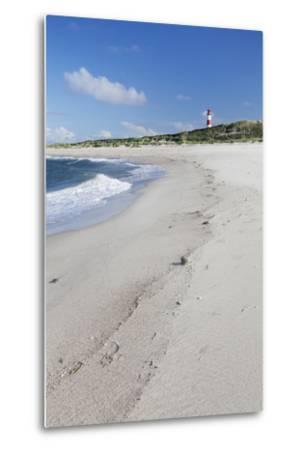 Beach and Lighthouse List Ost-Markus Lange-Metal Print