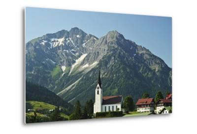 Hirschegg, Kleines Walsertal, Austria, Europe-Jochen Schlenker-Metal Print