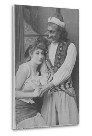 Actor and Actress in Ali Baba and the Forty Thieves--Metal Print