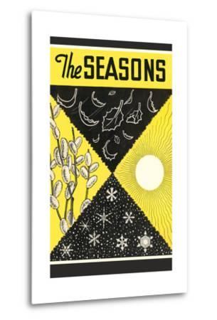 Four Seasons Chart--Metal Print