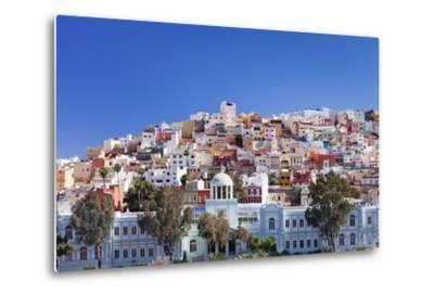 Coloured Buildings in the District of San Juan-Markus Lange-Metal Print