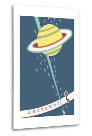 Arcturus and Saturn--Metal Print