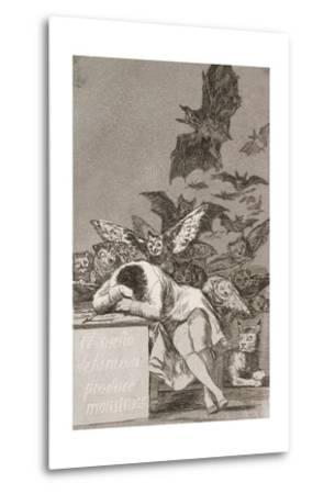 The Sleep of Reason Produces Monsters (No. 43), from Los Caprichos-Suzanne Valadon-Metal Print