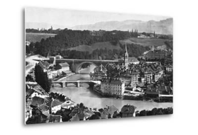 A View of Bern--Metal Print