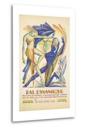 Invitation to Modern Dance Concert, 1929--Metal Print