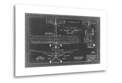 Aeronautic Blueprint VIII-Vision Studio-Metal Print